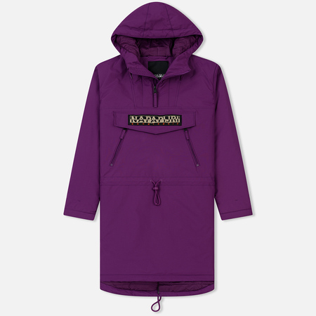 Мужская куртка анорак Napapijri Rainforest Parka Mid Purple