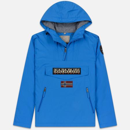 Мужская куртка анорак Napapijri Rainforest Pocket French Blue
