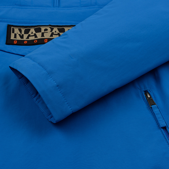 Мужская куртка анорак Napapijri Rainforest Pocket French Blue