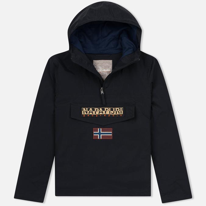 Мужская куртка анорак Napapijri Rainforest Slim Summer Black