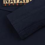 Мужская куртка анорак Napapijri Rainforest Slim Summer Blue Marine фото- 3