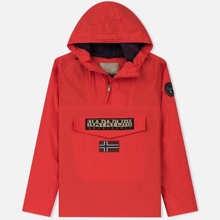 Мужская куртка анорак Napapijri Rainforest Summer 1 Bright Red