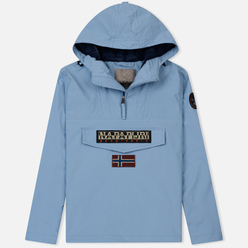 Мужская куртка анорак Napapijri Rainforest Summer 1 Dusk Light Blue
