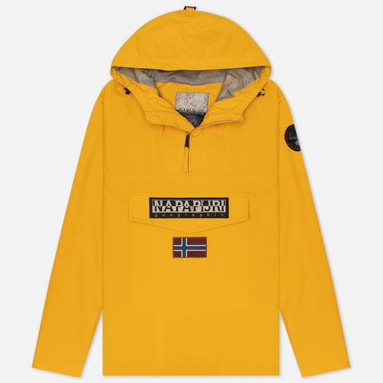 Мужская куртка анорак Napapijri Rainforest Summer 1 Mango Yellow