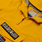 Мужская куртка анорак Napapijri Rainforest Summer 1 Mango Yellow фото - 1