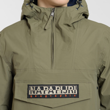 Мужская куртка анорак Napapijri Rainforest Summer 1 New Olive Green фото- 3