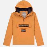 Мужская куртка анорак Napapijri Rainforest Slim Summer Apricot фото- 0