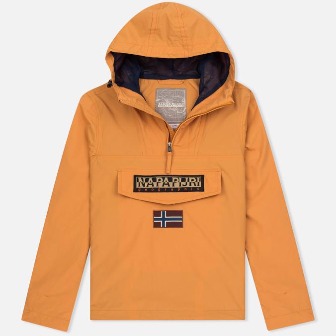 Мужская куртка анорак Napapijri Rainforest Slim Summer Apricot