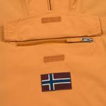 Мужская куртка анорак Napapijri Rainforest Slim Summer Apricot фото- 2