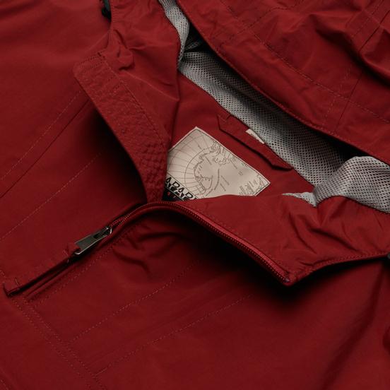 Мужская куртка анорак Napapijri Rainforest Summer Tribe Cherry Bordea