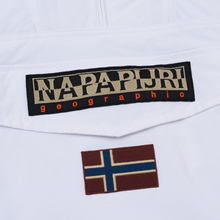 Мужская куртка анорак Napapijri Rainforest Winter 1 Bright White фото- 3