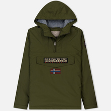 Мужская куртка анорак Napapijri Rainforest Winter 1 Green Musk фото- 0