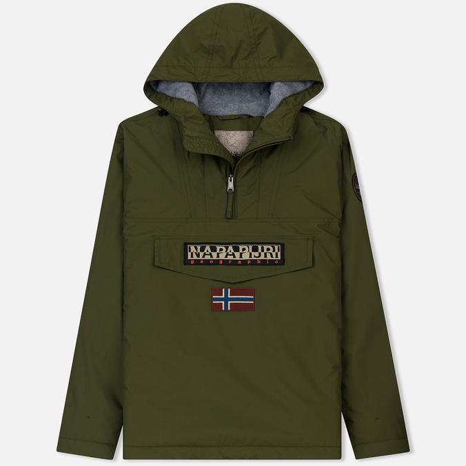 9376a594622e Мужская куртка анорак Rainforest Winter 1 Green Musk