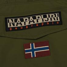Мужская куртка анорак Napapijri Rainforest Winter 1 Green Musk фото- 3