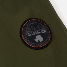 Мужская куртка анорак Napapijri Rainforest Winter 1 Green Musk фото- 5