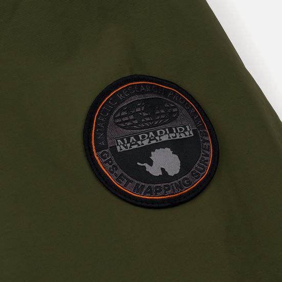 Мужская куртка анорак Napapijri Rainforest Winter 1 Green Musk