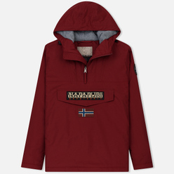 Мужская куртка анорак Napapijri Rainforest Winter 1 Red Bourgo
