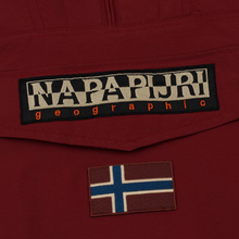 Мужская куртка анорак Napapijri Rainforest Winter 1 Red Bourgo фото- 3