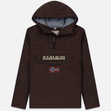 Мужская куртка анорак Napapijri Rainforest Winter Choco Brown