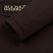 Мужская куртка анорак Napapijri Rainforest Winter Choco Brown фото- 4