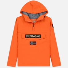 Мужская куртка анорак Napapijri Rainforest Winter Orange Puffin фото- 0