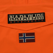 Мужская куртка анорак Napapijri Rainforest Winter Orange Puffin фото- 3