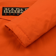 Мужская куртка анорак Napapijri Rainforest Winter Orange Puffin фото- 4