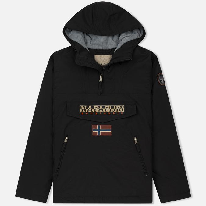 Мужская куртка анорак Napapijri Rainforest Winter Pockets Black