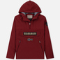 Мужская куртка анорак Napapijri Rainforest Winter Pockets Red Bourgogne фото - 0