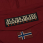Мужская куртка анорак Napapijri Rainforest Winter Pockets Red Bourgogne фото - 3