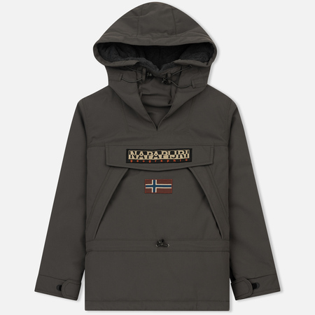 Мужская куртка анорак Napapijri Skidoo 1 Dark Grey Solid