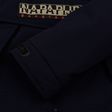 Мужская куртка анорак Napapijri Skidoo 2 Blue Marine фото- 3