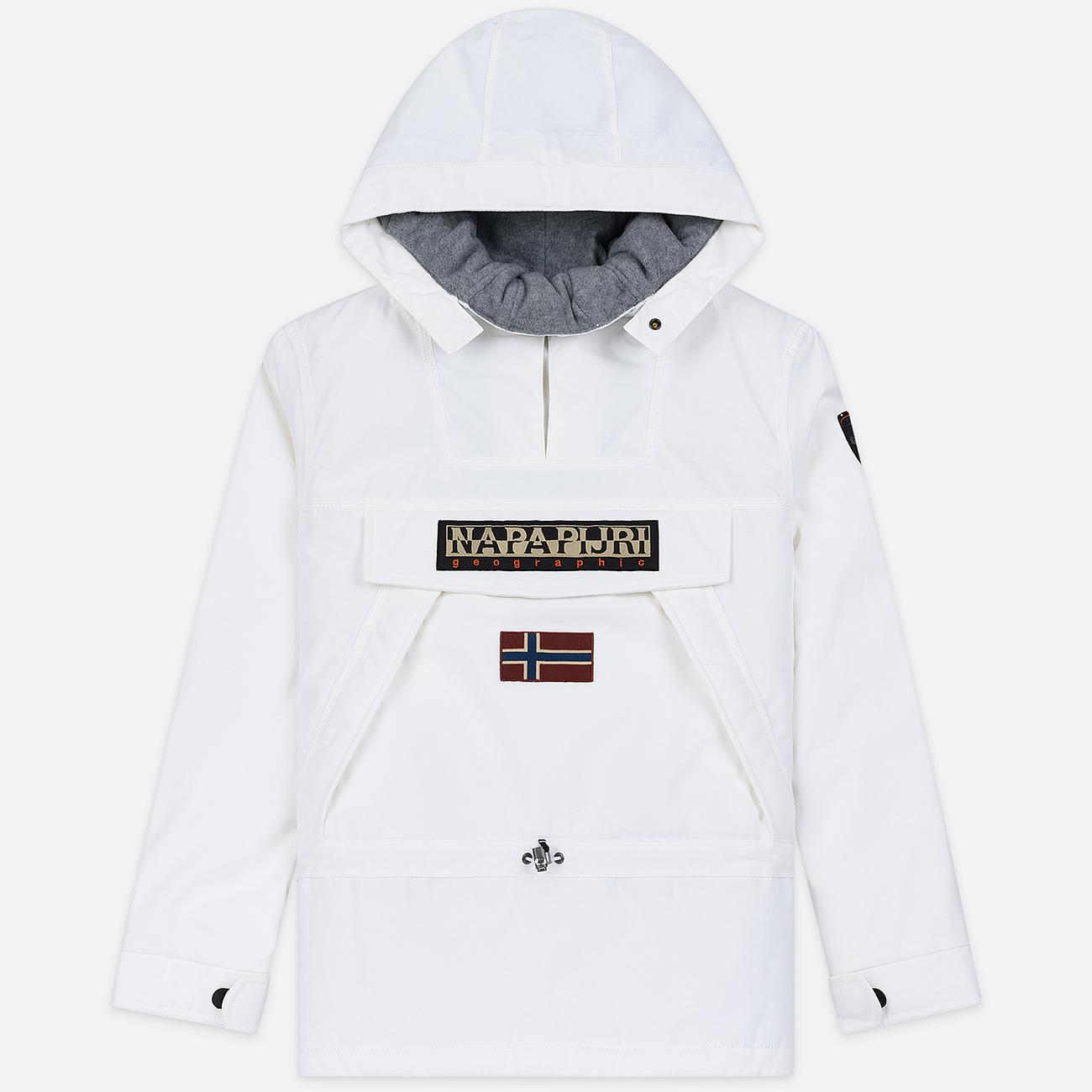 Мужская куртка анорак Napapijri Skidoo 2 Bright White