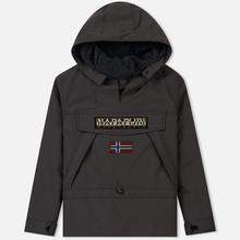 Мужская куртка анорак Napapijri Skidoo 2 Dark Grey Solid фото- 0