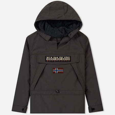 Мужская куртка анорак Napapijri Skidoo 2 Dark Grey Solid