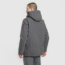 Мужская куртка анорак Napapijri Skidoo 2 Dark Grey Solid фото- 2