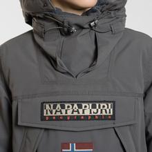Мужская куртка анорак Napapijri Skidoo 2 Dark Grey Solid фото- 3