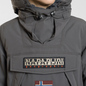 Мужская куртка анорак Napapijri Skidoo 2 Dark Grey Solid фото - 3