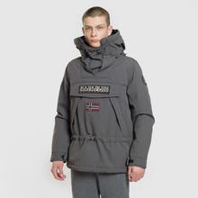 Мужская куртка анорак Napapijri Skidoo 2 Dark Grey Solid фото- 1