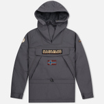 Мужская куртка анорак Napapijri Skidoo Dark Grey Solid фото- 0