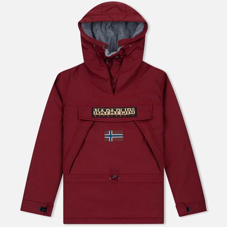Мужская куртка анорак Napapijri Skidoo Mineral Red