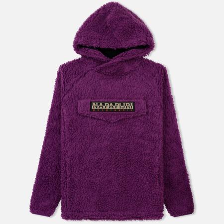 Мужская куртка анорак Napapijri Telve Hoodie Mid Purple
