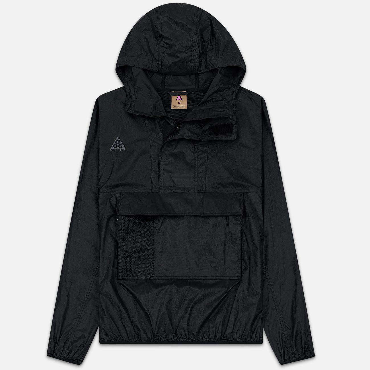 Мужская куртка анорак Nike ACG NRG Black/Anthracite