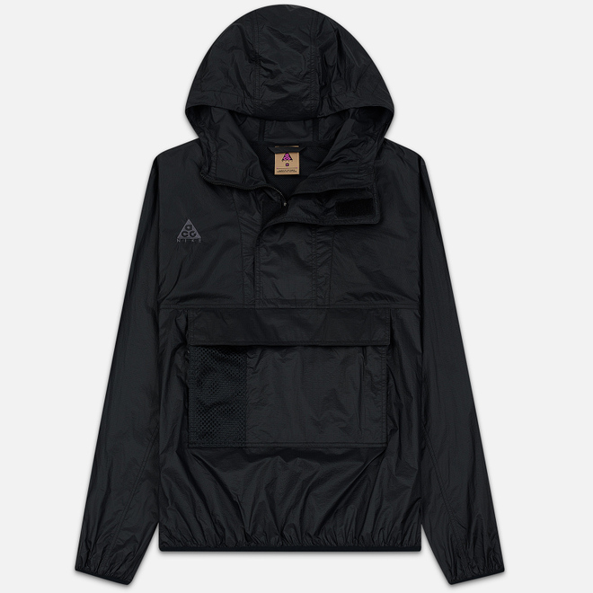 Мужская куртка анорак Nike ACG NRG Hoodie Black/Anthracite