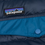 Мужская куртка анорак Patagonia Down Snap-T Navy Blue фото- 2