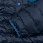 Мужская куртка анорак Patagonia Down Snap-T Navy Blue фото- 3