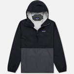 Patagonia Torrentshell Pullover Men's Anorak Black photo- 0