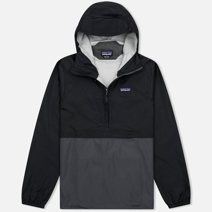 Мужская куртка анорак Patagonia Torrentshell Pullover Black