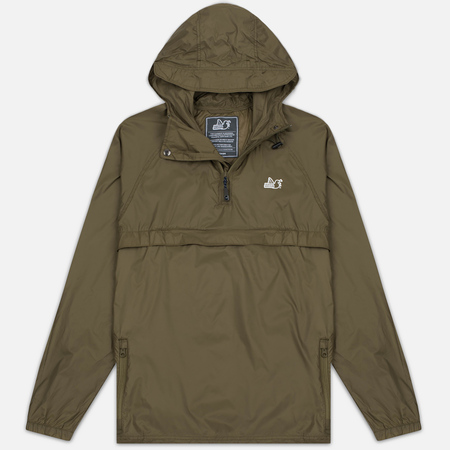 Peaceful Hooligan Weston Men's Anorak Khaki