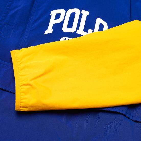 Мужская куртка анорак Polo Ralph Lauren Grant Performance Pullover Red/Rugby Royal